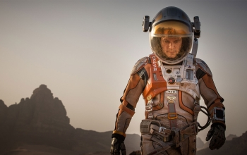 Still from the movie, The Martian