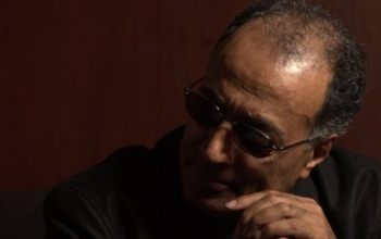 a headshot of kiarostami