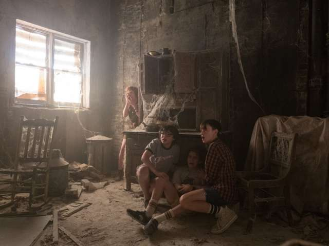 Press still from the movie It