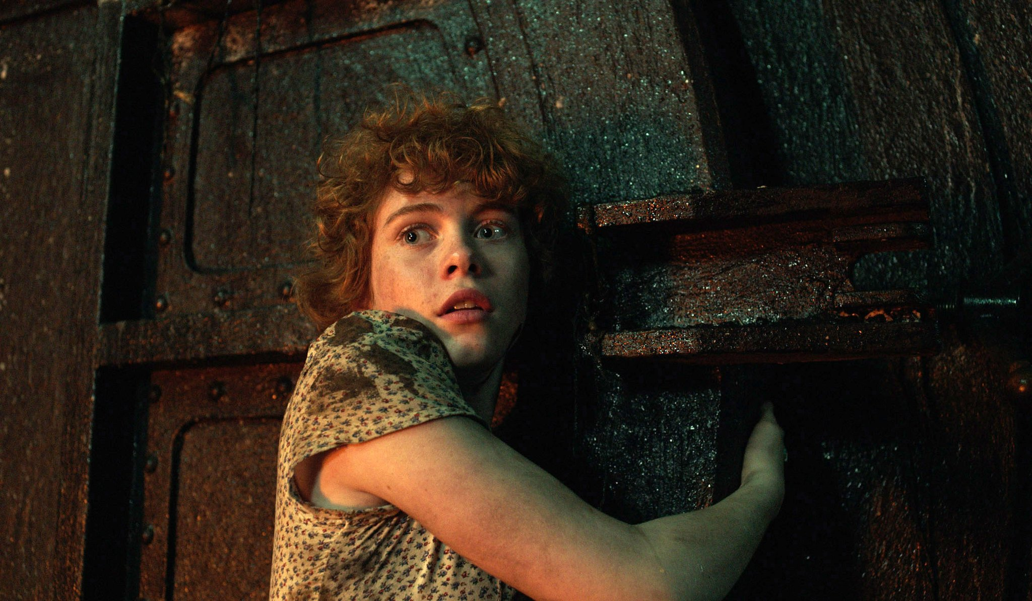 Press still from It that features the character Beverly Marsh.