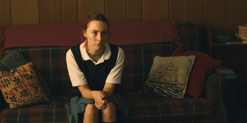 Press still from the movie Lady Bird