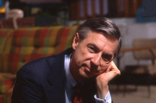 The world has never known how to respond to someone as positive as Mr. Rogers
